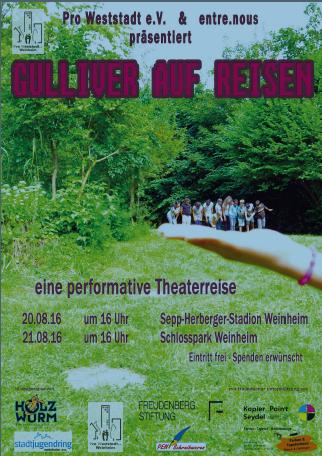 Plakat Gulliver auf Reisen